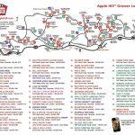 Apple Hill Lodgingnorth Canyon Inn   Apple Hill Printable Map