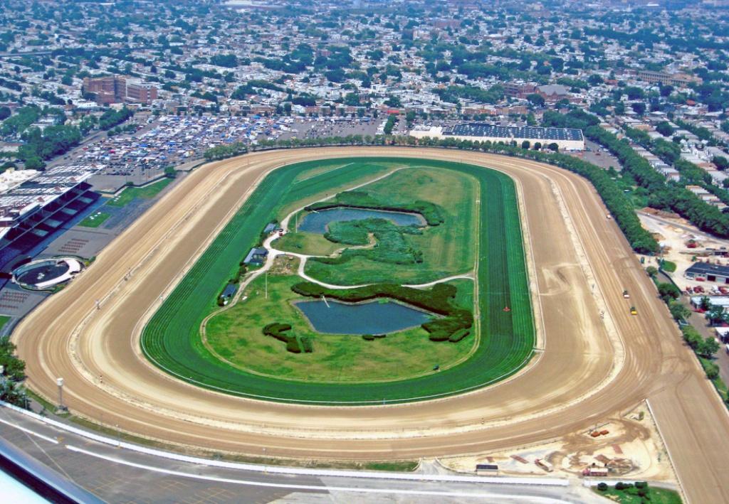 Aqueduct Racetrack - Wikipedia - Horse Race Tracks In California Map