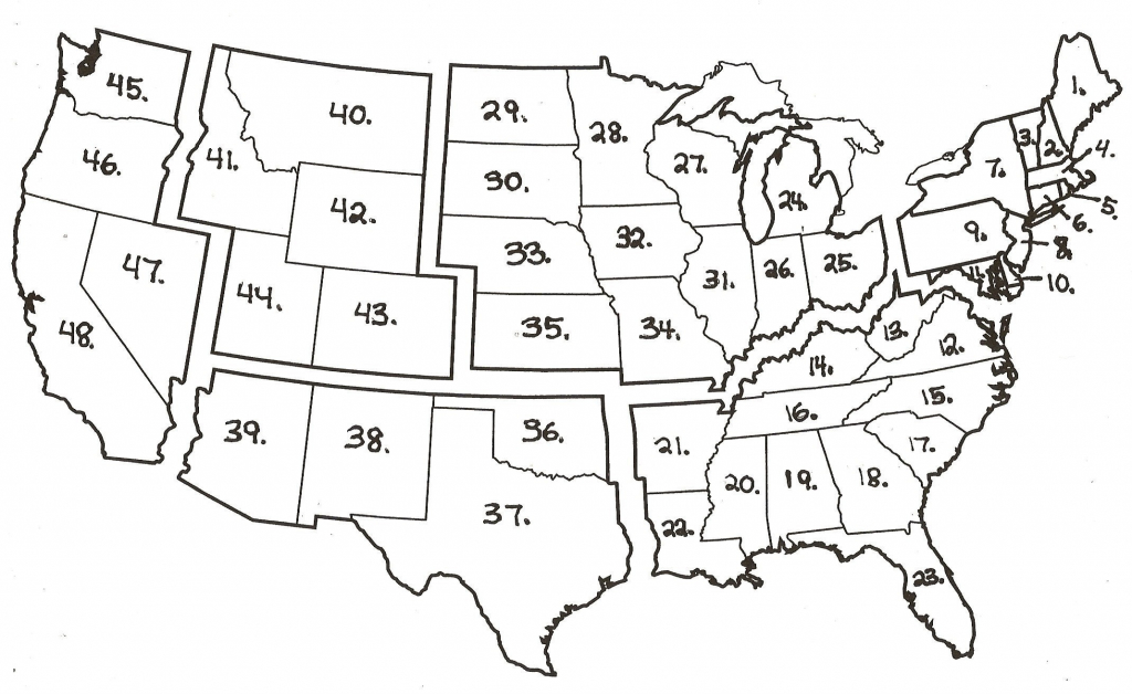 Archive With Tag: Southeast States Quiz Fill In The Blank   Maps Usa - Southeast States Map Printable