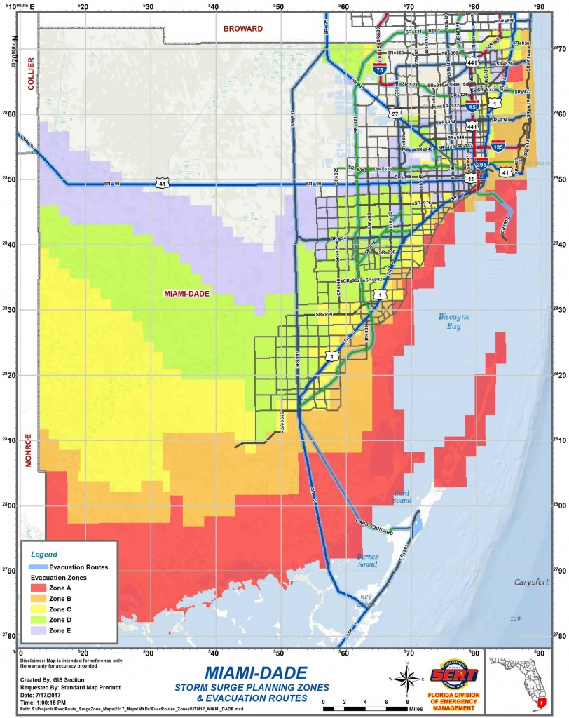 Are You In An Evacuation Zone? Here Is How To Know   Wlrn - Florida Hurricane Evacuation Map