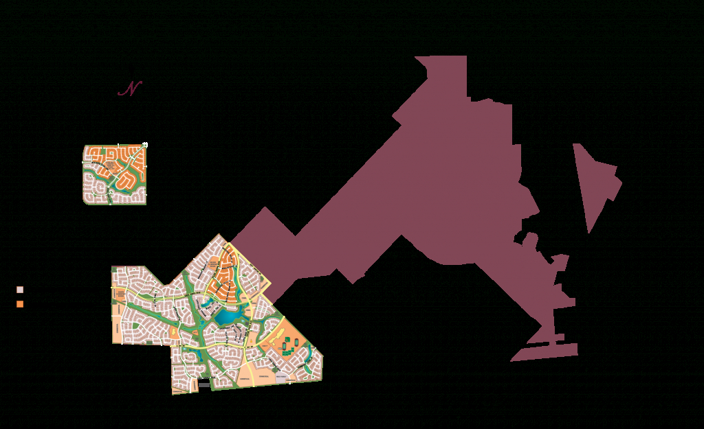 Area Map - Map Of Cinco Ranch Texas
