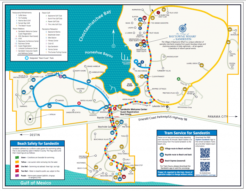 Area Maps   Sandestin Beach Maps   Hilton Sandestin Beach Golf - Sandestin Florida Map