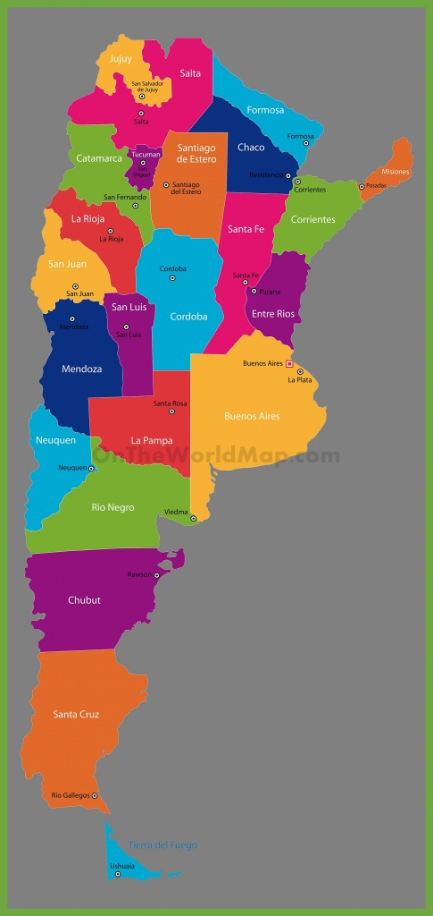 Argentina Maps | Maps Of Argentina - Printable Map Of Argentina