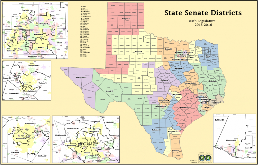 """Argument Preview: How To Measure """"one Person, One Vote"""" - Scotusblog - Texas State Senate Map"""