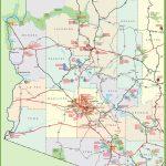 Arizona Sightseeing Map   Printable Map Of Arizona