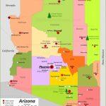 Arizona State Maps | Usa | Maps Of Arizona (Az)   Printable Map Of Arizona