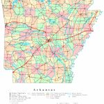 Arkansas Printable Map   Printable State Maps