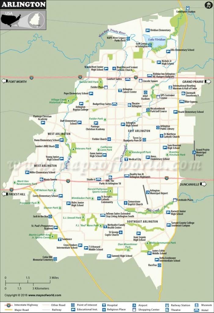 Arlington Map 19 Arlington Texas Map | Ageorgio - Arlington Texas Map