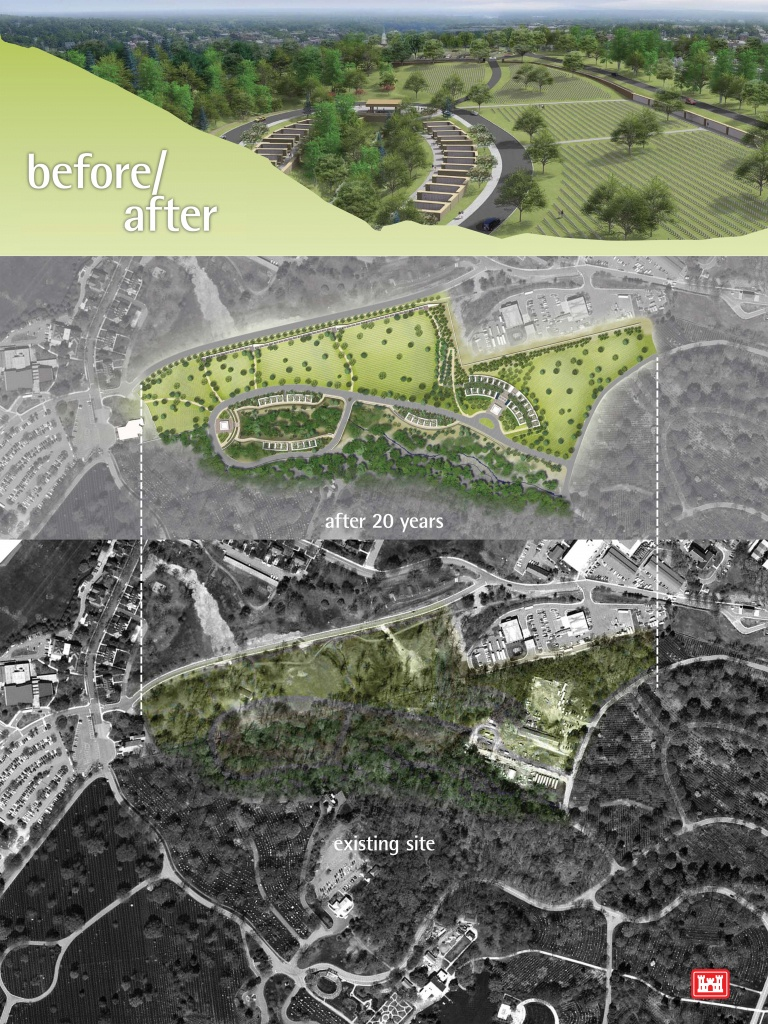 Arlington National Cemetery To Share Design For Millennium Expansion - Printable Map Of Arlington National Cemetery