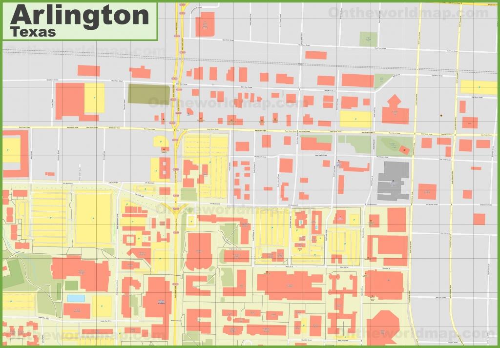 Arlington Texas Map | Ageorgio - Arlington Texas Map