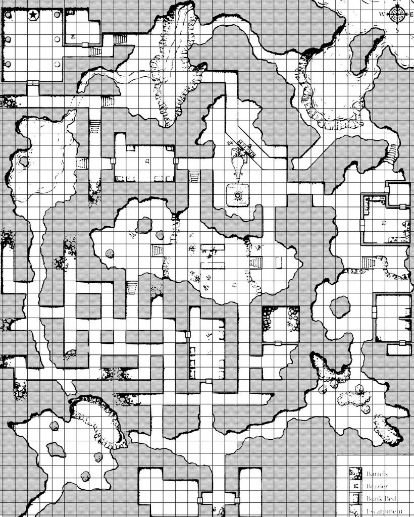 Art] Printer-Friendly Wave Echo Cave Map - Album On Imgur - Wave Echo Cave Map Printable