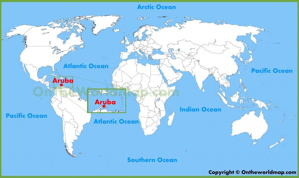 Aruba Maps | Maps Of Aruba - Printable Map Of Aruba