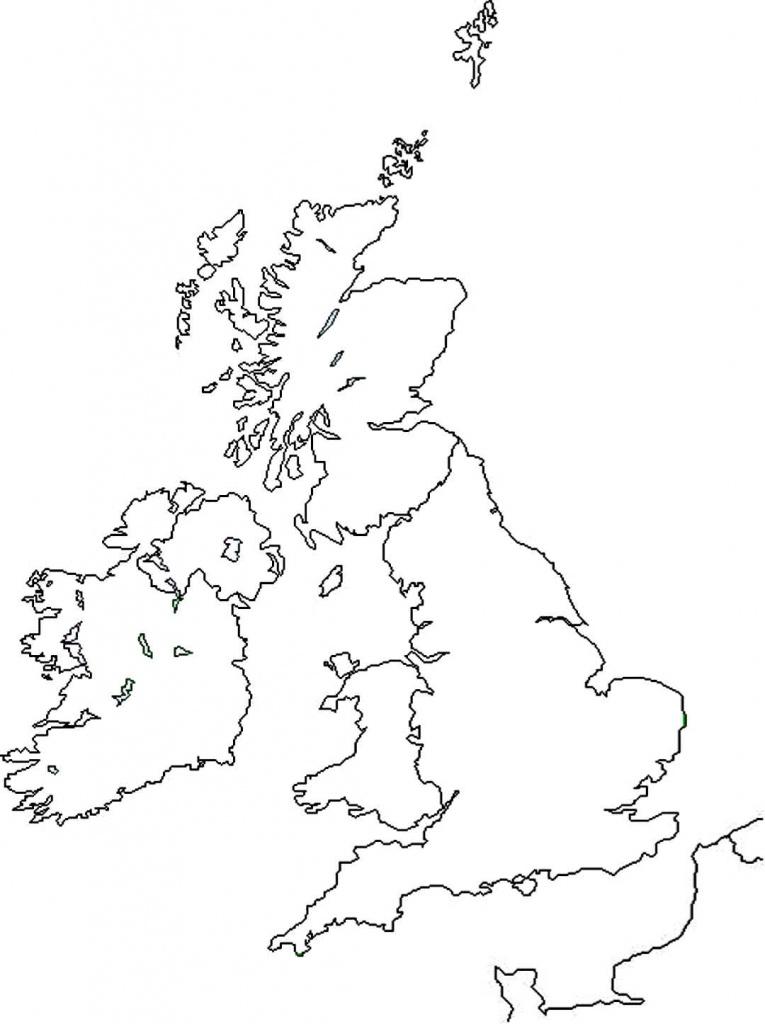 Astakos State Primary School - Scuola Primaria Statale Di Astakos - Blank Map Of Scotland Printable