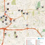 Atlanta Printable Tourist Map   Free Tourist Maps ✈   Atlanta - Printable Map Of Atlanta