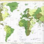 Atlas Map Of The World With Latitude And Longitude   Printable World Map With Latitude And Longitude