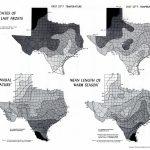 Atlas Of Texas   Perry Castañeda Map Collection   Ut Library Online   Texas Temperature Map