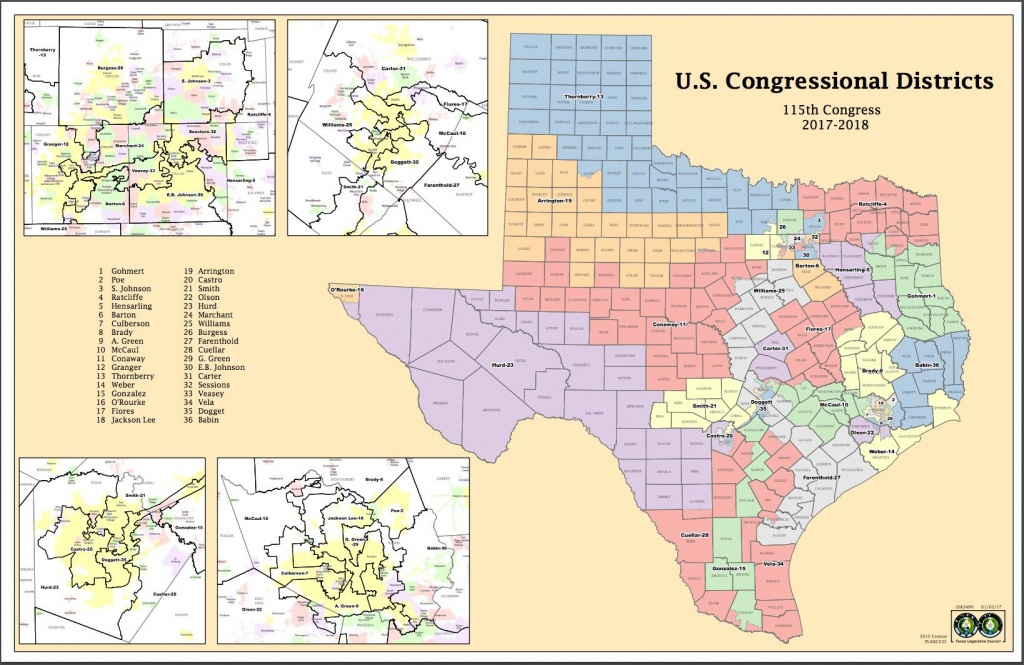 Attorneys Say Texas Might Have New Congressional Districts Before - Texas District Map