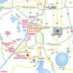 Attractions Map : Orlando Area Theme Park Map : Alcapones   Google Maps Orlando Florida