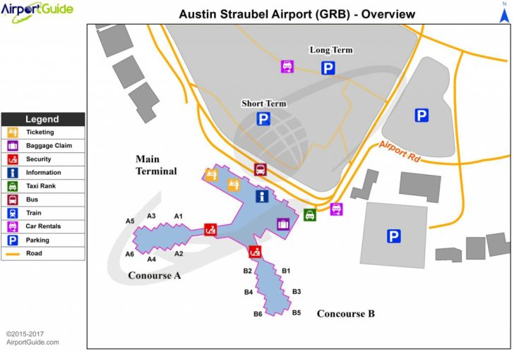 Austin Texas Airport Terminal Map