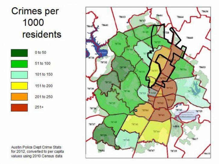 Texas Crime Map