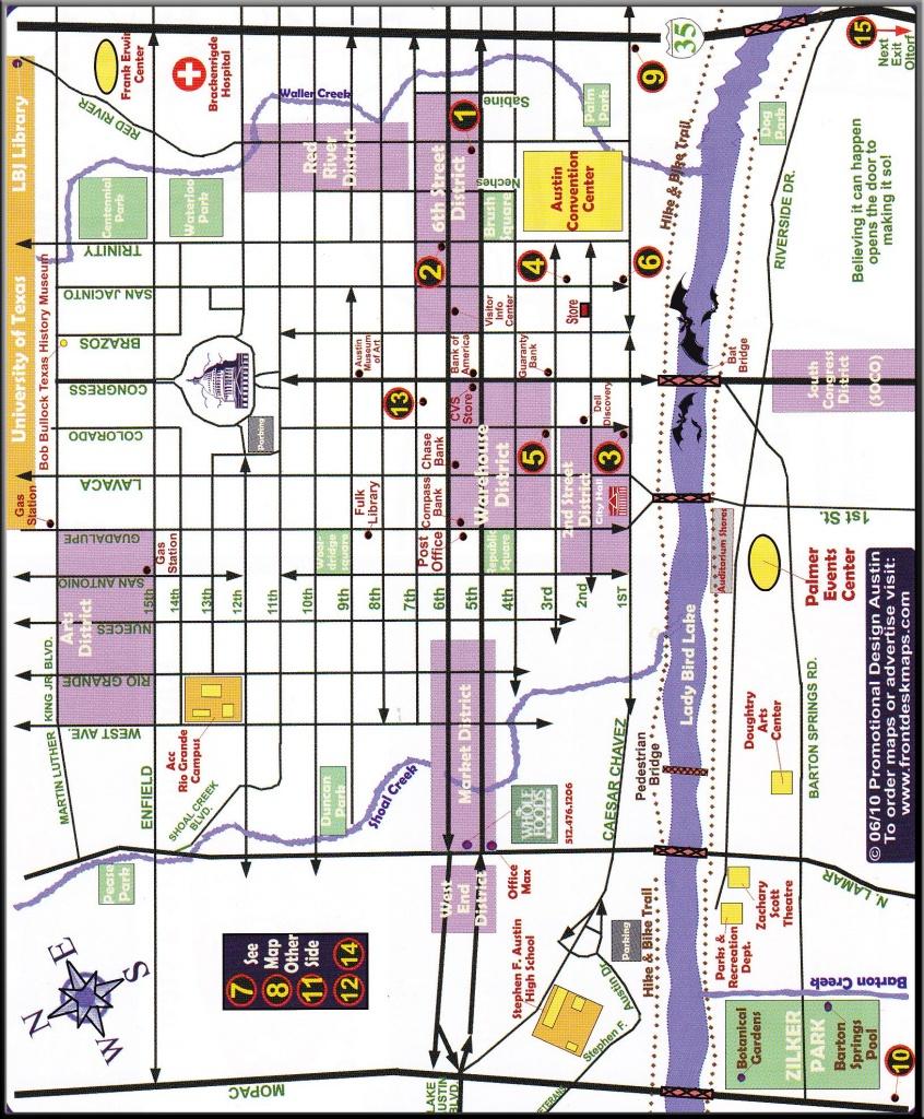 Austin Downtown District Map | More Maps | Austin Map, Map, Diagram - Austin Texas Map Downtown