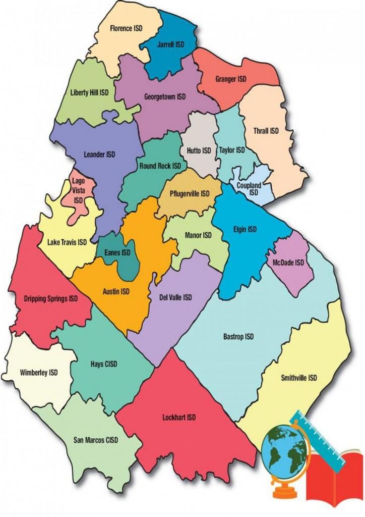 Austin School District Map - Austin Area School District Map (Texas - Texas School District Map By Region