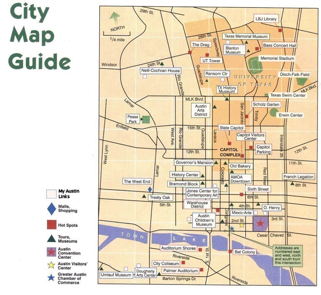 Austin Texas City Map Guide - Austin Texas City Map