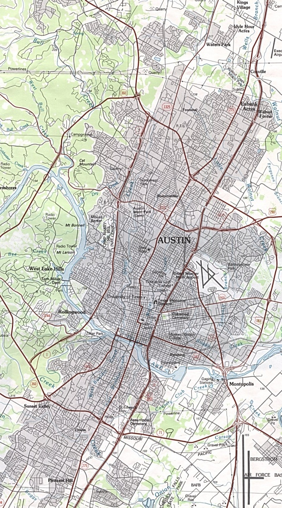 Austin, Texas Maps - Perry-Castañeda Map Collection - Ut Library Online - Austin Texas City Map