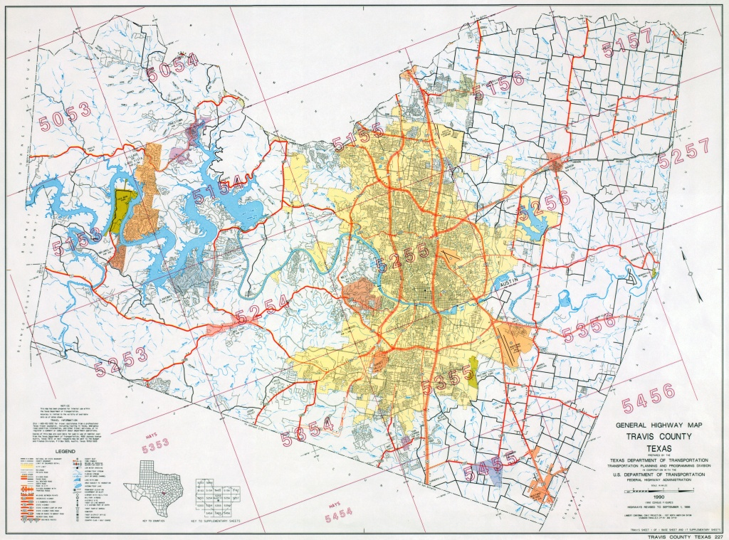 Austin, Texas Maps - Perry-Castañeda Map Collection - Ut Library Online - Austin Texas Map Downtown