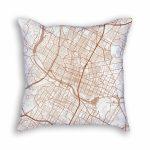 Austin Texas Throw Pillow – City Map Decor   Texas Map Pillow