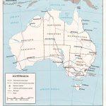 Australia Maps | Printable Maps Of Australia For Download   Printable Map Of Australia With States And Capital Cities