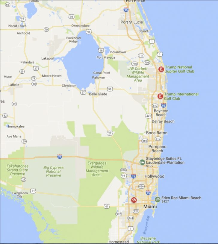 Ave Maria Florida Map