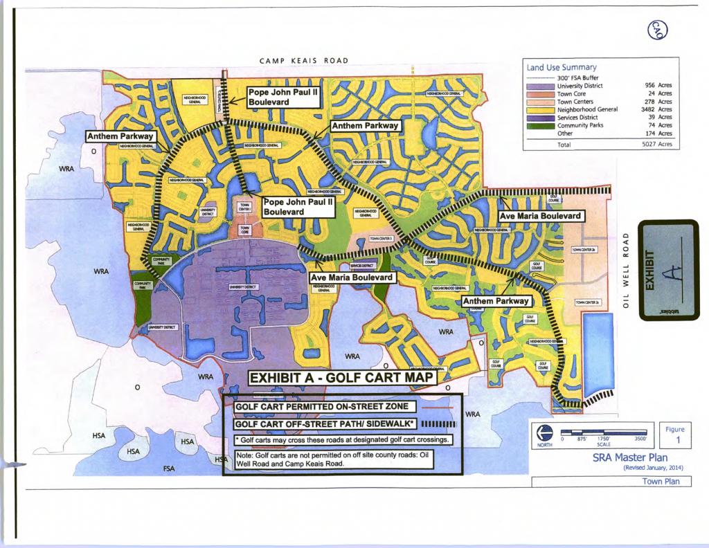 Ave Maria Maps | Ave Maria Living - Ave Maria Florida Map