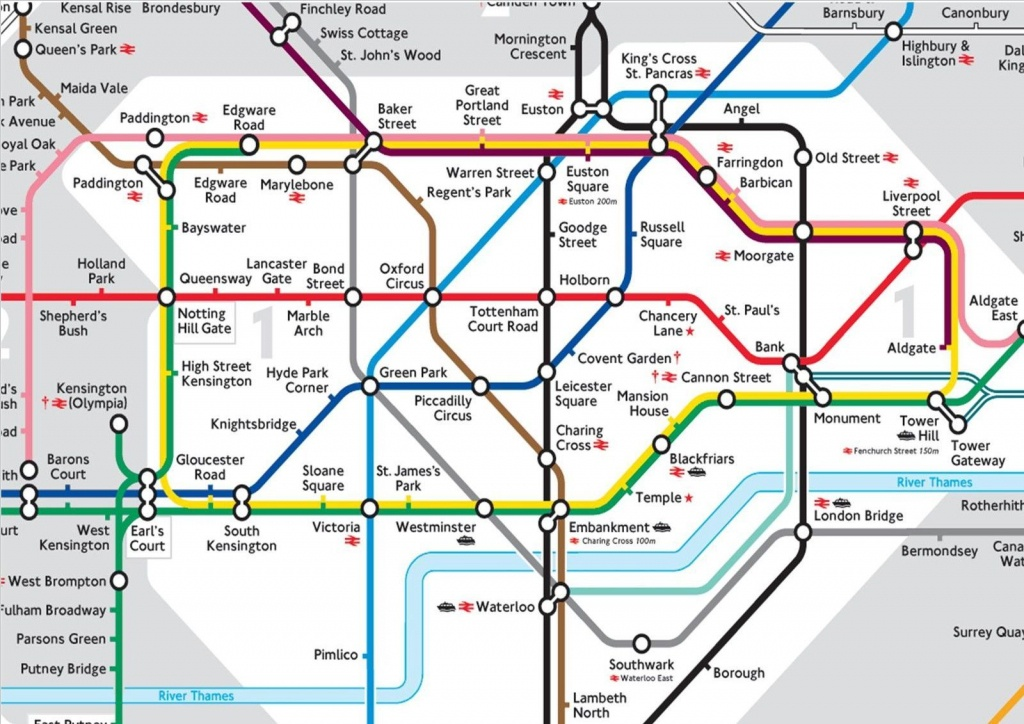 Background London Tube Underground Tube Map A4 Cake Topper Icing - London Underground Map Printable A4