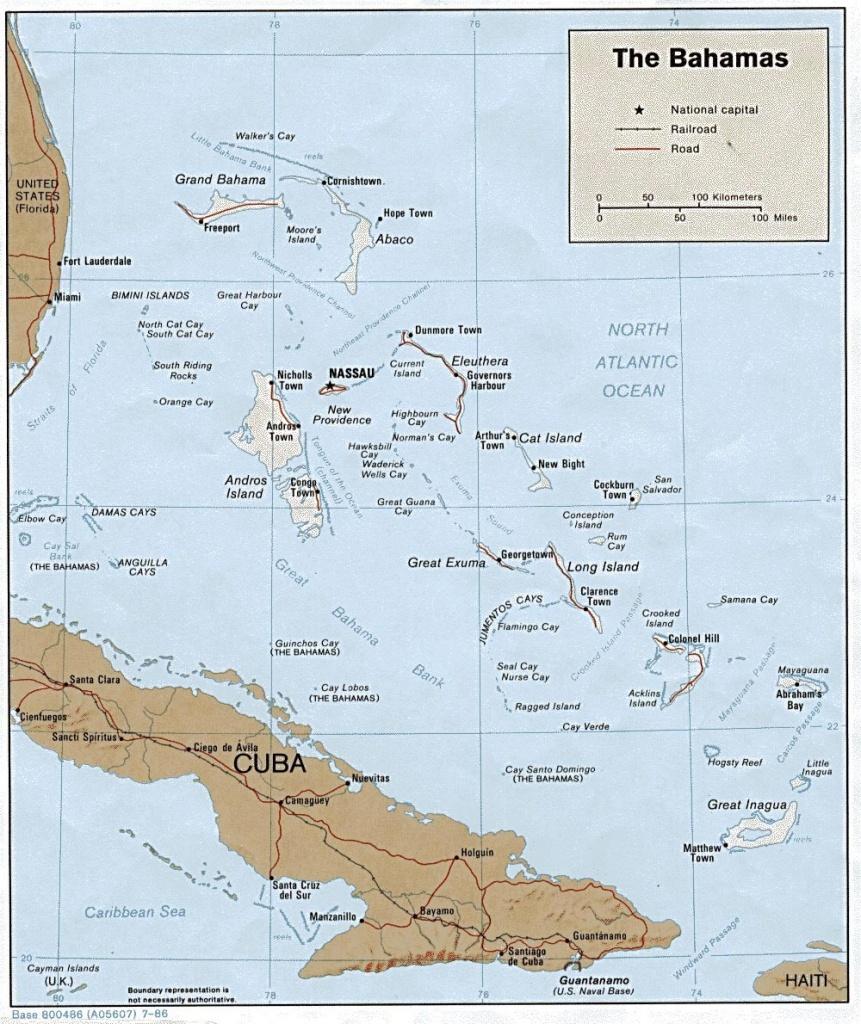 Bahamas Maps | Printable Maps Of Bahamas For Download - Printable Map Of Nassau Bahamas