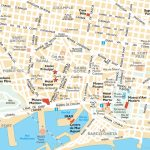Barcelona Attractions Map Pdf   Free Printable Tourist Map Barcelona   Barcelona Tourist Map Printable