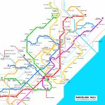 Barcelona Subway Map For Download | Metro In Barcelona   High   Metro Map Barcelona Printable