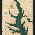Bathymetric Map Lake Conroe, Texas In 2019 | Bathymetric Maps   Map Of Lake Conroe Texas