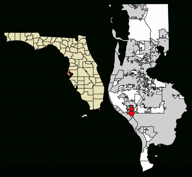 Bay Pines Florida Map