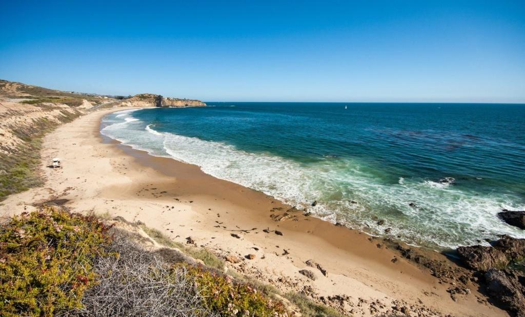 Beach Camping California Map - California Beaches - Southern California Campgrounds Map