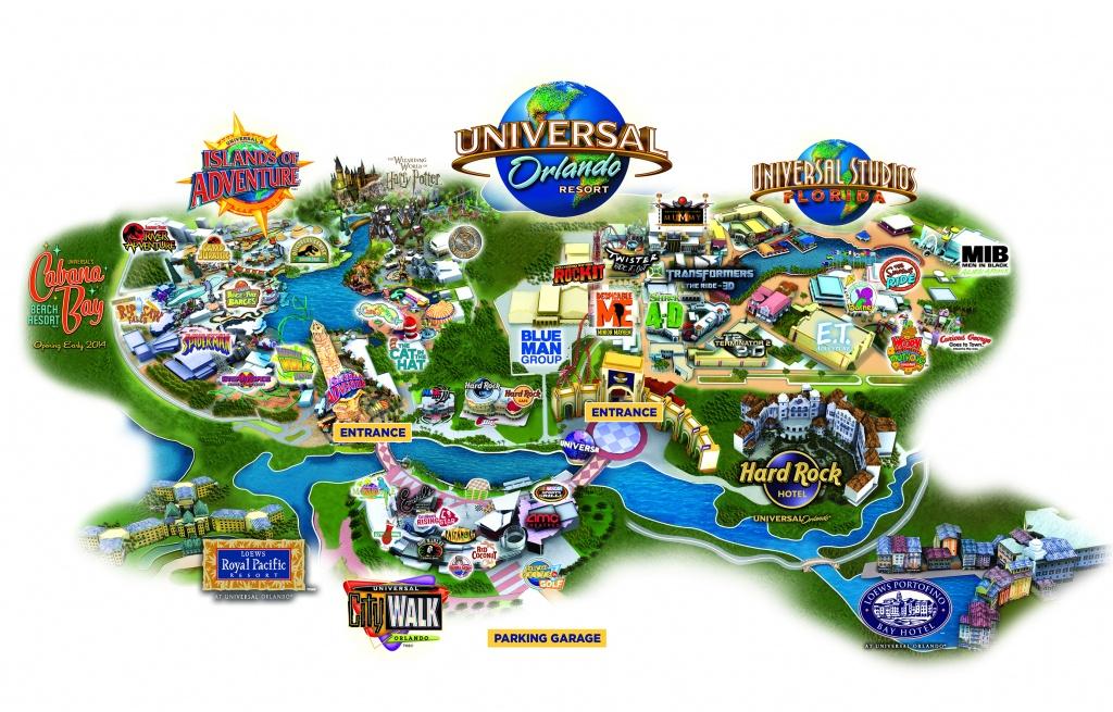 Beach Resort : Universal Beach Resort - Universal Studios Florida Resort Map