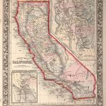 Beautiful Vintage Hand Drawn Map Illustrations Of California From   California Map Book