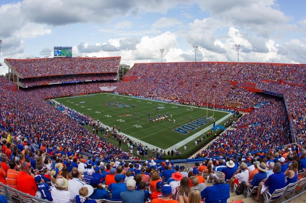 Ben Hill Griffin Stadium - Facilities - Florida Gators - University Of Florida Football Stadium Map