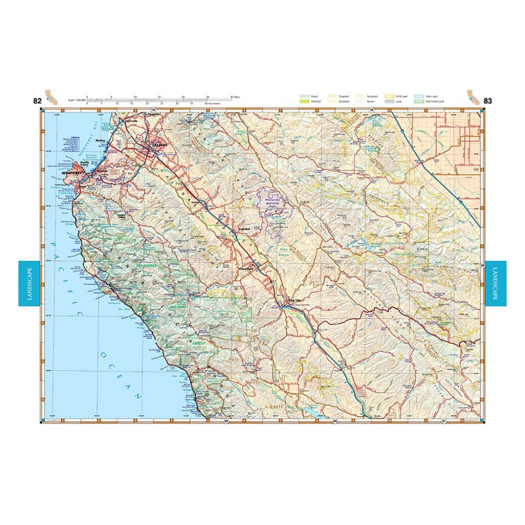 Benchmark Maps® Be0Bencaat - California Road & Recreation Atlas - Benchmark Maps California