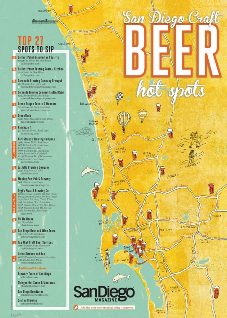 Best Breweries In California Map   Danielrossi - California Brewery Map