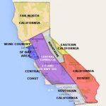 Best California Statearea And Regions Map   California Desert Map