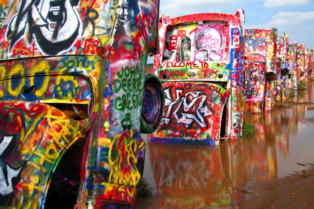 Best Time For Cadillac Ranch In Texas 2019 - Best Season & Map - Cadillac Ranch Texas Map