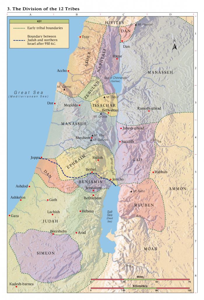 Bible Maps - Printable Bible Maps