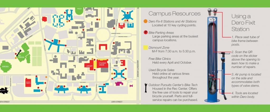 Bicycling | Transportation & Parking Services | Ttu - Texas Tech Dorm Map