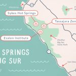 Big Sur Hot Springs   Top Natural Hot Tubs On The Coast   Hot Springs California Map